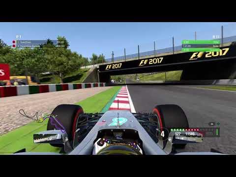 F1™ 2017 SUZUKA 1.27,1 WORLD RECORD HOTLAP TT AMAZING SETUP Esports!
