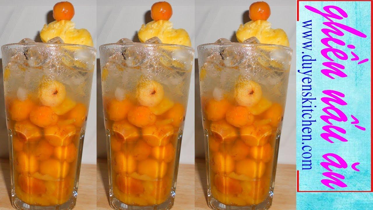 Làm Cocktail Sơ Ri Giải Nhiệt Cho Ngày Nắng Nóng By Duyen's Kitchen | Ghiền Nấu Ăn