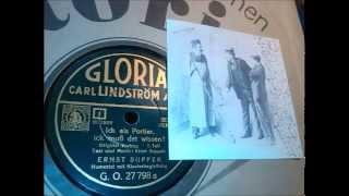 Ernst Suppek, Originalvortrag 1935: Ick als Portier, ick muß det wissen!