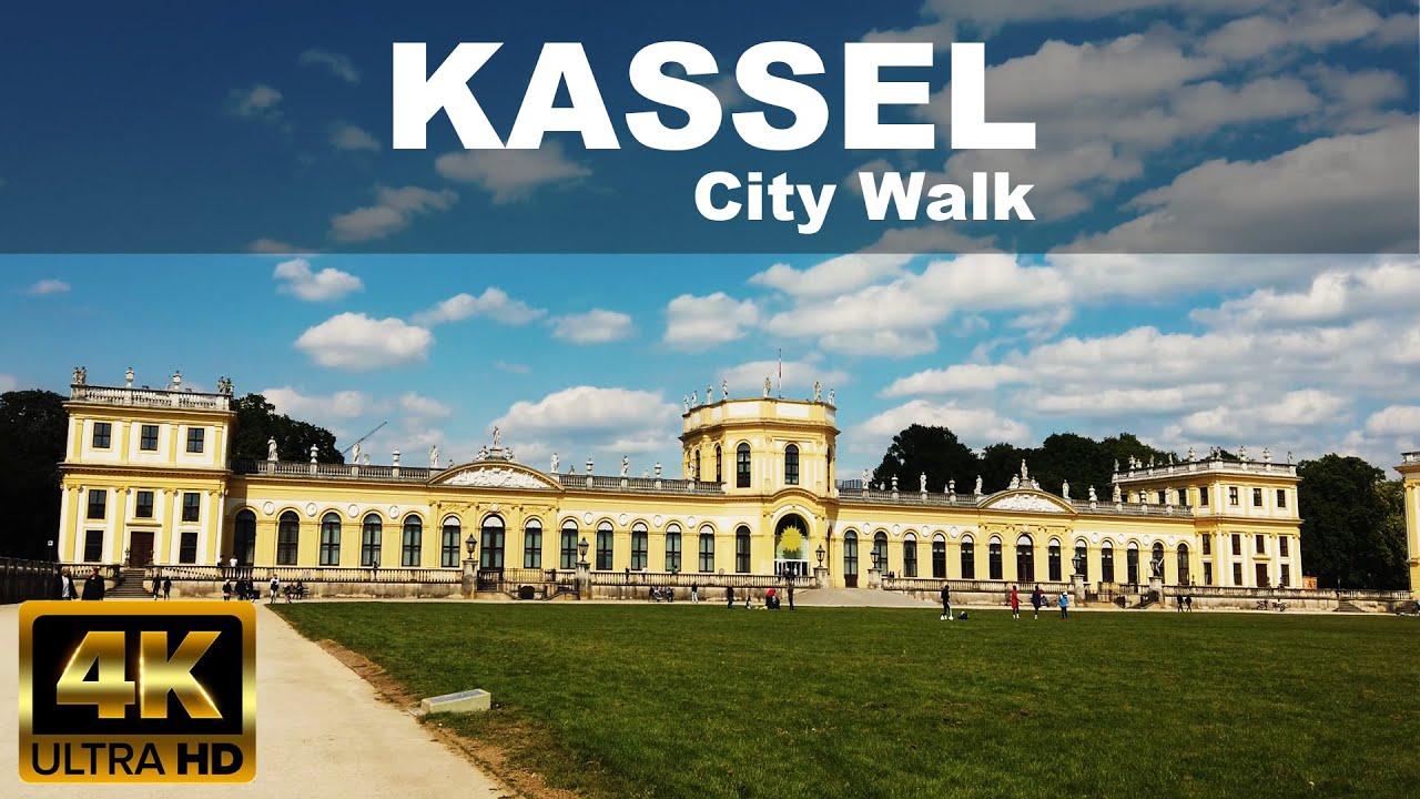 Download KASSEL CITY WALKING TOUR   4K UHD   ☀️   🇩🇪   GERMANY