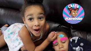 Makeup Prank on my Brother! | Cali's Playhouse