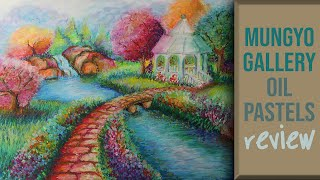Painting with Mungyo Gallery Soft Oil Pastels | Best Alternative to Sennelier | PRODUCT REVIEW screenshot 4
