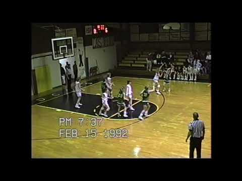 1992 Greenfield Academy Hornets at Crisp Academy Wildcats (Boys and Girls basketball games)