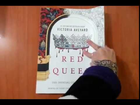Red Queen: The Official Coloring Book - YouTube