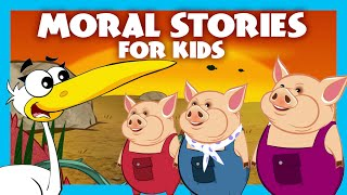Moral Stories For Kids In English | Story Compilation | Educational Stories