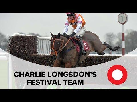 Charlie Longsdon's Cheltenham Festival team