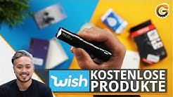 Wish Bestellung: Kostenlose Wish Produkte testen / Deutsch