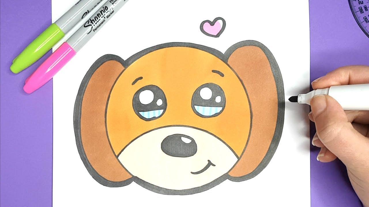 Kawaii Baby Hund Selber Malen Einfach Und Süß