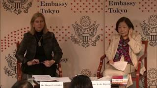 米国大使館・東京家政大学女性未来研究所共催シンポジウム:人生100年時代、熱望される女性のリーダーシップ~世代を超えて、持続的に、女性同士が助け合うために~