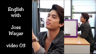 """English with Joss Wayar v.03 - """"I'm not sure about that. Haven't measure"""""""