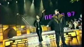 Лолита и Цекало   Я обиделась Песня года 97