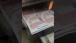 Fujixerox c560 brochure A5 1side running