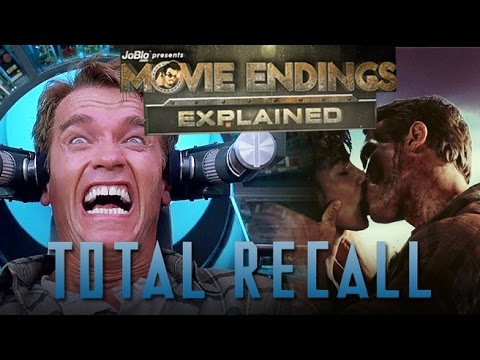 Movie Endings Explained – TOTAL RECALL (1990) Arnold Schwarzenegger, Paul Verhoeven sci-fi action
