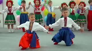 Танець «Козачок»🌿Дитячий ансамбль Української пісні і танцю «ПИСАНКА», м.Львів (мол.група)