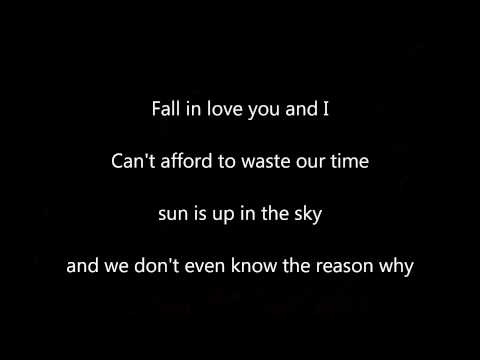 Lorenzo Fragola - The Reason Why (lyrics)