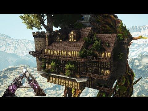 Ark: Extinction - Forest Titan Treehouse Mansion (Speed Build)