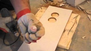 Видео урок  Как сделать отверстие в плитке