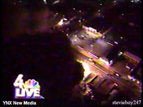 WNBC 4 New York - Coverage of the Los Angeles Riots (April 29, 1992)