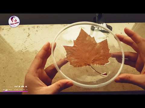 Sonbaharı hatırlamak için - EPOXY RESİN - EPOKSİ REÇİNE 2 (DIY)