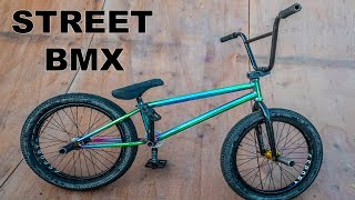 MY NEW STREET BMX BIKE