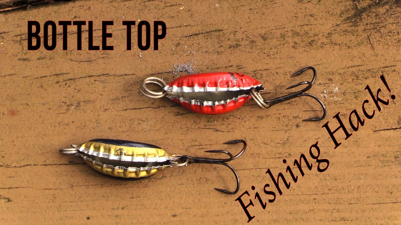 homemade bottle top lure - fishing hack - youtube, Hard Baits