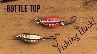 Homemade Bottle Top Lure - Fishing Hack