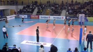 Волейбол Женщины ЛЧ 3 тур Безье Омичка 26 11 2013