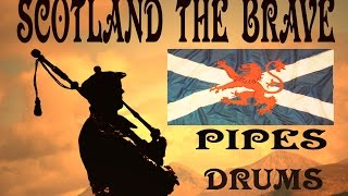 Gambar cover ⚡️SCOTLAND  THE   BRAVE ⚡️ PIPES & DRUMS ( HD )⚡️