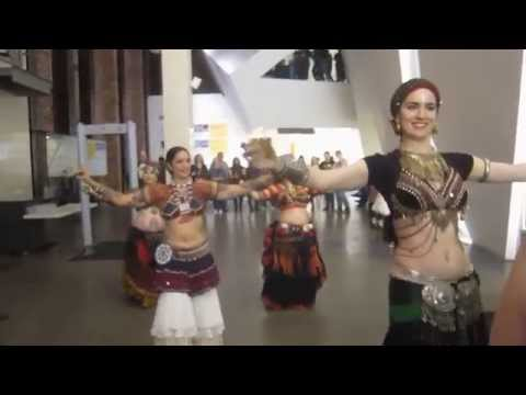 Fat Chance Belly Dance at the Contemporary Jewish Museum: Purim