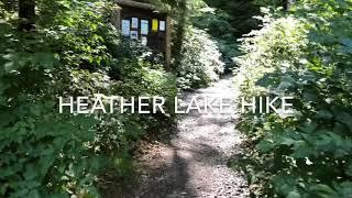 Heather Lake Hike, Central Cascades