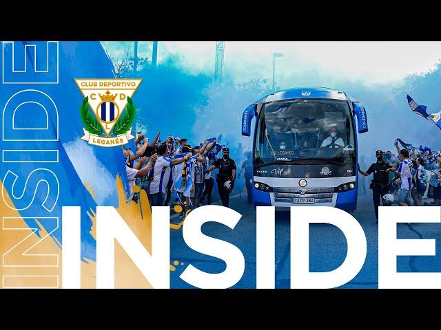 🎥 INSIDE   La afición volvió a Butarque en el partido ante el Rayo Vallecano #LeganésRayo