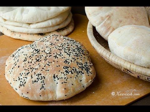 Pita Bread (Ceesh) Pain Pita الخبز - العيش