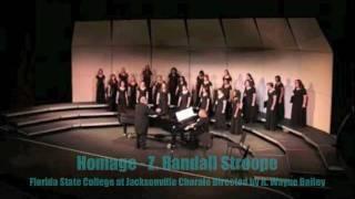 Homage - Zane Randall Stroope (FSCJ)