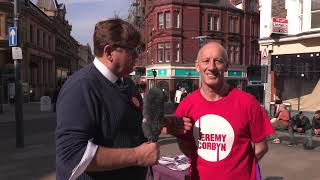 Richard Ford Interviews Colin Simmonds a Labour supporter in Newport West