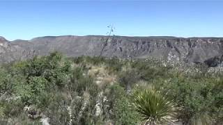 Hiking Pt. 7040 - McKittrick Canyon, Guadalupe Mountains National Park