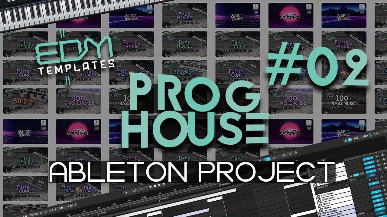 Progressive House Ableton Project File 18 10