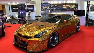 Gold car in Dubai worth $1m