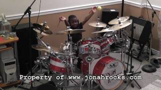 Nine Inch Nails -  March of the Pigs, Jonah Rocks, 5 Year Old Drummer