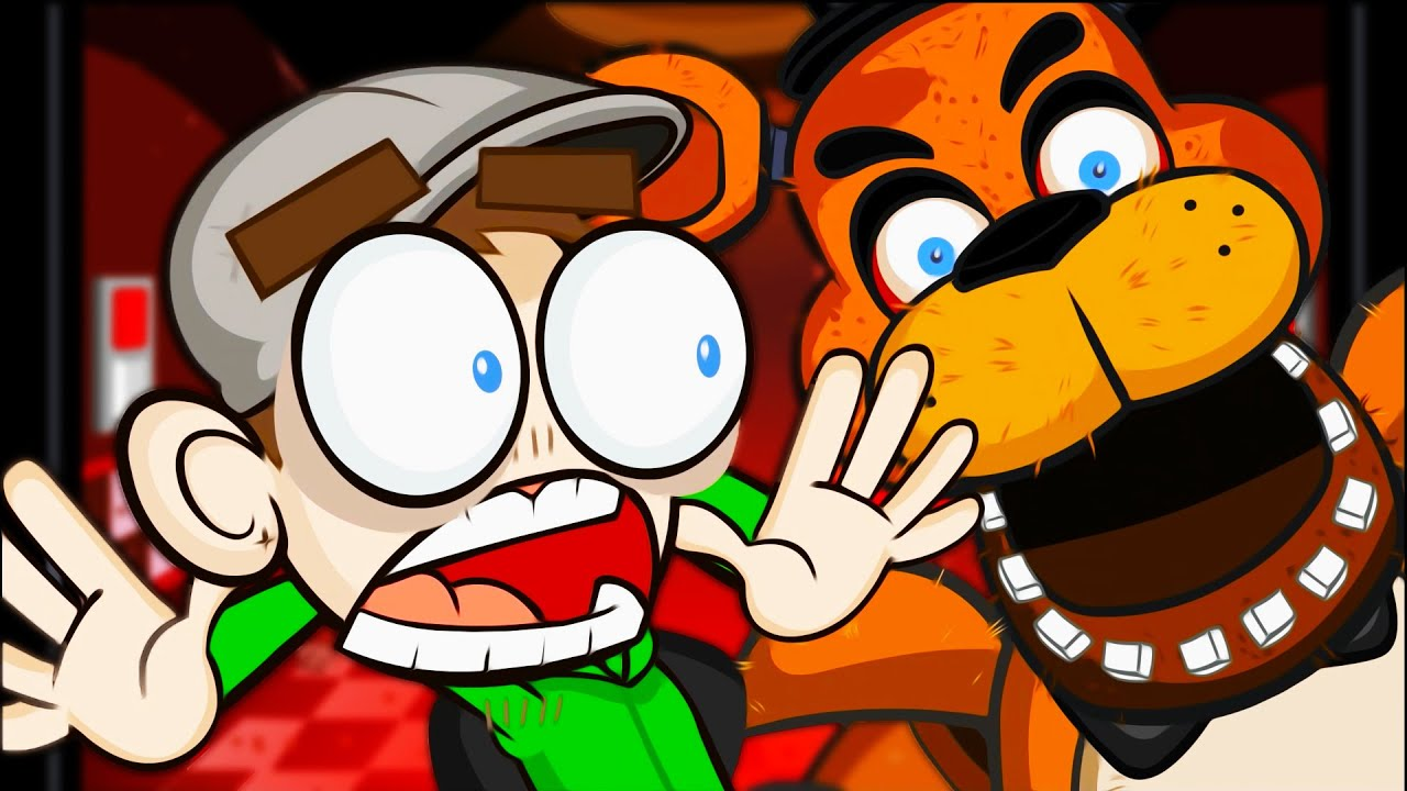 Five Nights At Freddy's Animation | Jacksepticeye Animated - YouTube