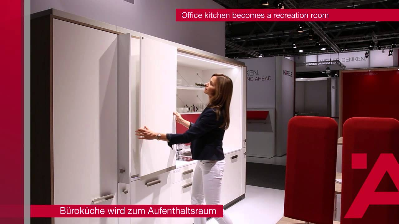 Burokuche Wird Zum Aufenthaltsraum Office Kitchen Becomes A