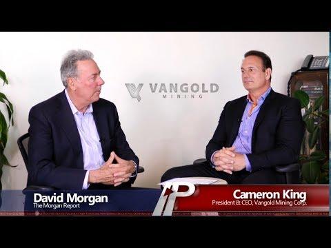 David Morgan Interviews Cameron King, President & CEO Of Vangold Mining Corp