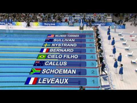 Mens 50M Freestyle Final - hombres 50M estilo libre final Beijing 2008