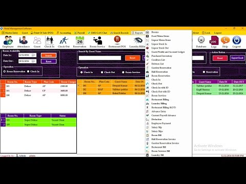 Best Hotel Management Software | Hotel Management System