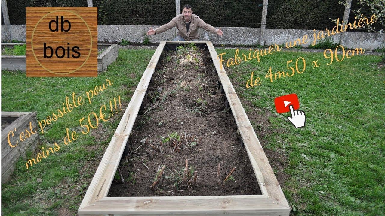 Fabriquer Une Jardiniere En Lame De Terrasse