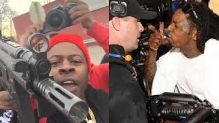 Rappers Going CRAZY Compilation part 4 (ft. Blac Youngsta, Travis Scott, Lil Wayne & more)
