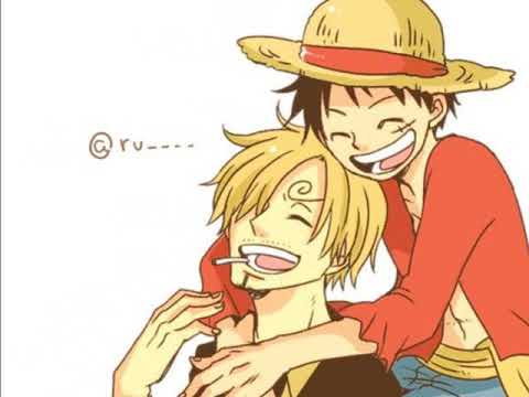 Sanji x Luffy~ Something Just Like This
