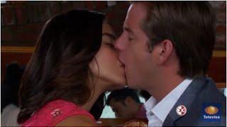 La vecina - Sara besa a Antonio