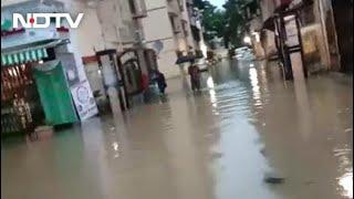 Mumbai Rain: Streets Flooded Amid Heavy Rain In Mumbai