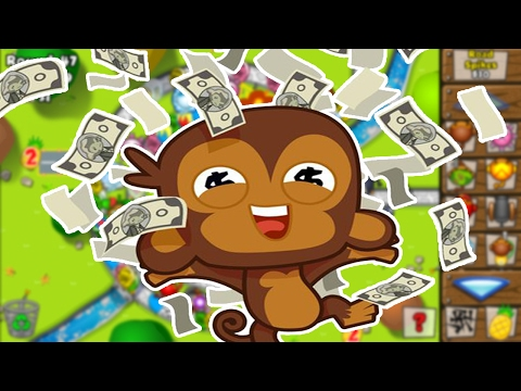 BLOONS TD BATTLE | GETTING SO MUCH MONEY! - *Bananza Mode Custom Games!*