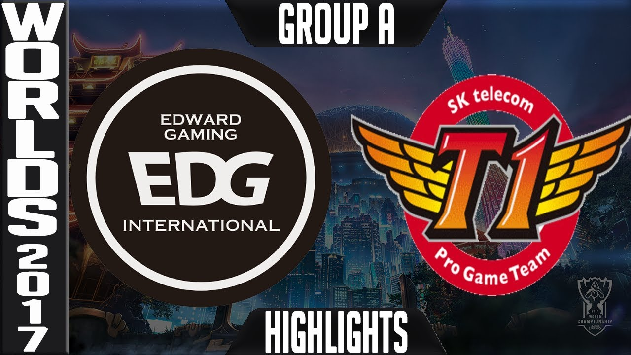 EDG vs SKT Highlights S7 World Championship 2017 Group A Day 2 Game 6 - Edward Gaming vs SK Telecom